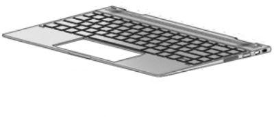 HP Top Cover Nsv W Kb Bl Nsv Sp 942041-071, Keyboard, HP,  942041-071 - eet01