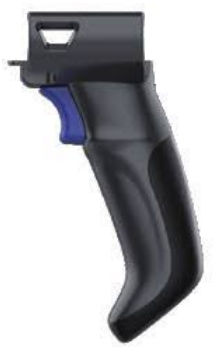 Datalogic Attachable Pistol-Grip Handle, Memor 10, Black Color (require 94ACC0201 - eet01
