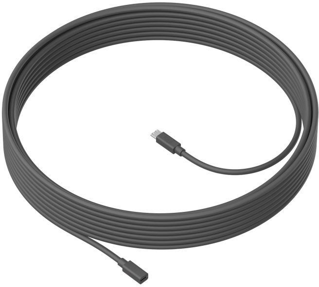 Logitech Extended cable 10m. For Meetup Microphone 950-000005 - eet01
