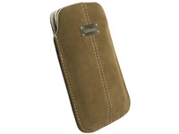 95257 Krusell Luna Mobile Pouch L Brown  - eet01