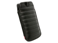 95416 Krusell Idre Mobile Pouch L Black/Red  - eet01