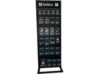 Sandberg Alu Slatwall Display 2-sided  999-50 - eet01