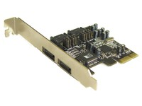 ST Labs PCI Express 1X Serial ATA II  A-341 - eet01