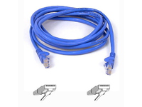 Belkin RJ45 CAT-5e Patch Cable, 2 met Blue A3L791B02M-BLU - eet01