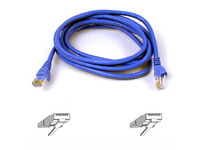 Belkin High Performance Category 6 UTP Patch Cable 2m A3L980B02M-BLUS - eet01