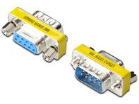 Digitus Mini Gender-Changer / 9-pin  AK-610502-000-I - eet01