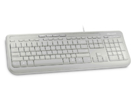 Microsoft Keyboard 600 White, US/Int layout ANB-00032 - eet01