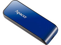Apacer USB2.0 Flash Drive AH334 16GB Blue RP AP16GAH334U-1 - eet01