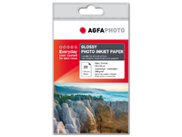 AgfaPhoto Glossy Photo Inkjet Paper 20 sheets 10x15cm AP18020A6 - eet01