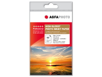 AgfaPhoto Photo Glossy Inkjet Paper 50 sheets 10x15cm AP26050A6 - eet01