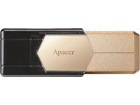 Apacer USB3.0 Fingerprint Flash Drive AH650 32GB Dazzling Gold AP32GAH650C-1 - eet01