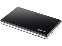 Apacer Hard Drive 500GB Black AC330 USB3.0 Portable AP500GAC330B-1 - eet01