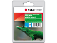 APB1000CD AgfaPhoto Ink C, rpl LC970C,LC1000C Cyan, Pages 2.518, 20ml - eet01