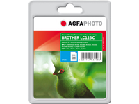 AgfaPhoto Ink Cyan rpl LC123C, 11ml  APB123CD - eet01