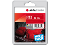 APCPG540_CL541XLSET AgfaPhoto Ink BK+CO, rpl PG-540, CL-541 Black/Color, Pages 1.214, 36ml - eet01