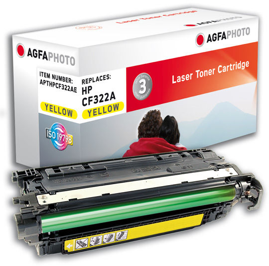 AgfaPhoto Toner yellow Pages 16.500 APTHPCF322AE - eet01