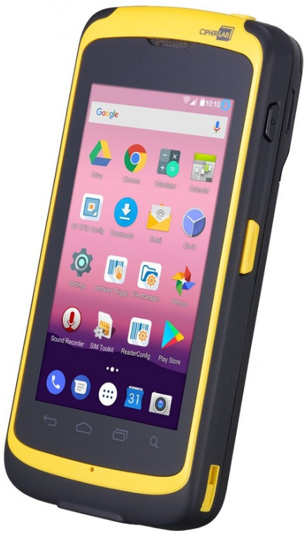 Cipherlab RS51 Android 8.0, 1.8GHz CPU EU Bands, BT/WIFI, 4.7, UK plu AS51E2BG4G001 - eet01
