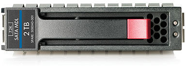 Hewlett Packard Enterprise P2000 2TB 3G SATA 7.2K 3.5in M **Shipping New Sealed Spares** AW556B - eet01