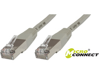 MicroConnect S/FTP CAT6 3m Grey PVC PiMF (Pairs in metal foil) B-SFTP603 - eet01