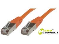 MicroConnect S/FTP CAT6 10m Orange PVC PiMF (Pairs in metal foil) B-SFTP610O - eet01