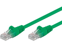 MicroConnect U/UTP CAT6 0.25M Green PVC Unshielded Network Cable, B-UTP60025G - eet01
