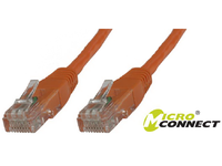 MicroConnect U/UTP CAT6 10M Orange PVC Unshielded Network Cable, B-UTP610O - eet01