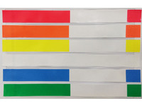 UltimoID UltimoID wristbands Adh 29x292mm white, 200band/roll BA-MED.TA.ADULT_WHITE - eet01