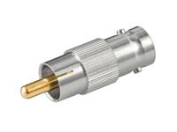 MicroConnect NC 1524 RCA M - BNC F With gold contacts BNCRCAADAPTOR - eet01