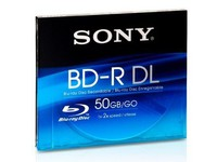 Sony BD-R DL 50GB/1-4x Jewelcase 1p  BNR50BS4 - eet01