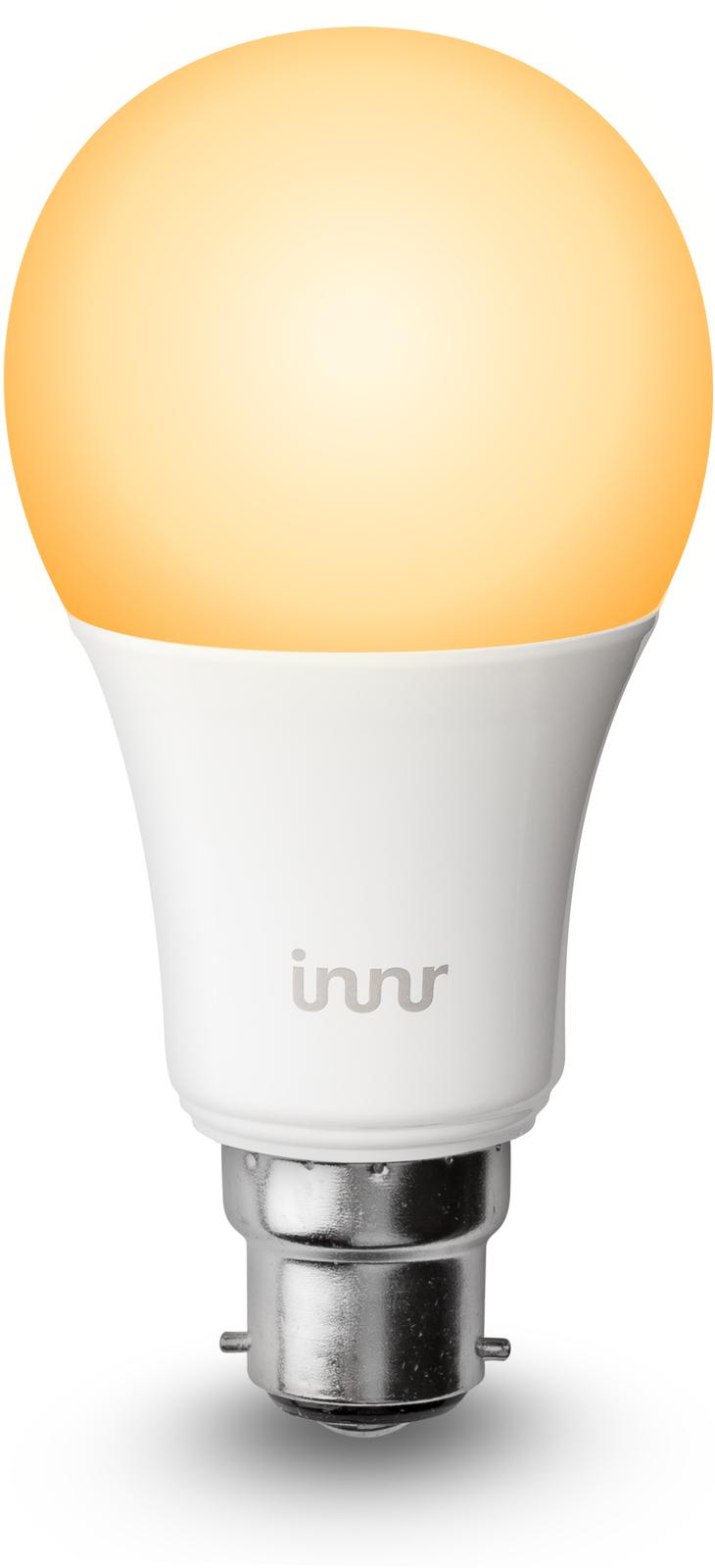 INNR Lighting 1x B22 smart led lamp, 2200K-5000K tunable white BY 178 T - eet01