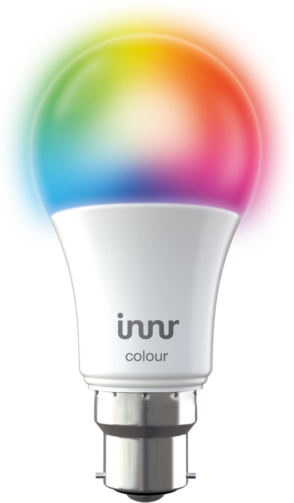 INNR Lighting 1x B22 Retrofit smart LED lamp RGBW 2000K-6500K, Bayonet BY 285 C - eet01