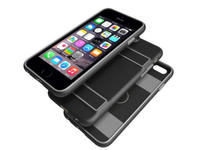 Peli Guardian Apple iPhone 6/6s Cover Black/Grey C02070-I61A-BLKE - eet01