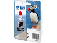 Epson HI-GLOSS2 T3247 PUFFIN SINGLEPACK 1X14.0MLRED C13T32474010 - eet01
