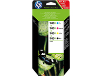 HP Inc. Ink Combo-Pack No.940XL Pages Black 2.200/Color 1.400 C2N93AE - eet01