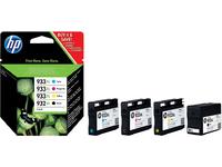 HP Ink B/C/M/Y, 11ml No. 932XL/933XL C2P42AE - eet01