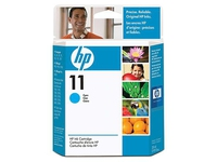 HP Cyan ink cartridge No 11 28 ml C4836A - eet01