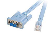 Cisco CONSOLE CABLE 6FT WITH **New Retail** CAB-CONSOLE-RJ45= - eet01