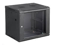 "MicroConnect 19"" Wall mounting cabinet 6U W. 600mm x D. 450mm x H. 370mm CABINET7 - eet01"