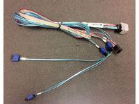 Supermicro Cable, Mini-SAS HD to 4 SATA 90/90/75/75cm w/75cm SB CBL-SAST-0699 - eet01