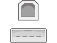Capture USB A-B Cable 2 Metre - Black  CDL-102 - eet01