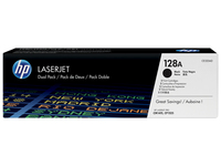HP Toner Black **2 Pack** CE320AD - eet01