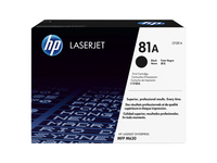 HP Inc. Toner Black 81A Pages 10.500 CF281A - eet01