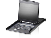 "Aten 16-Port 19"" LCD KVM Switch (USB - PS/2 VGA) CL1316N-ATA-2XK06SGG - eet01"