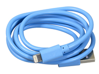 CMA1003 CMATE Lightning Cable 1M Blue Charge & Sync iPhone 5 & 6 - eet01