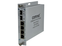 ComNet Self Managed Switch 4 ports 10/100TX w/High Power PoE CNGE2FE4SMSPOEHO - eet01