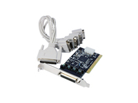 CP-110 ST Labs PCI POS 4S Serial Card W/cable & power output - eet01