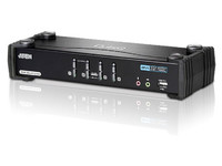 Aten 4 Port USB 2.0 DVI Dual link KVMP switch CS1784A-AT-G - eet01