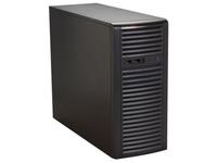 "Supermicro Mid-Tower, 500W PS, 4x 3.5"" Internal tool-less HDD bays, CSE-732I-500B - eet01"