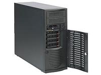 Supermicro BLACK SC733 MID TOWER 4 SATA &amp 500W CSE-733T-500B - eet01