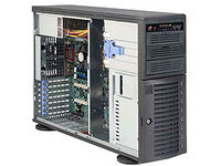 Supermicro BLACK 4U TOWER SC743T 500W  CSE-743T-500B - eet01